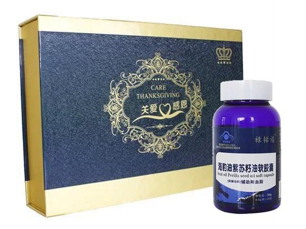 海豹紫苏籽油