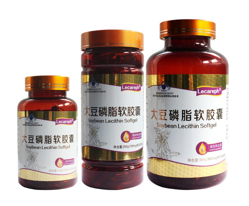 大豆磷脂软胶囊 Lecareph