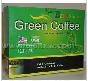 橡果 BEST Share 美国Green coffee 绿色英文咖啡